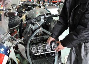 バイクの整備・車検イメージ